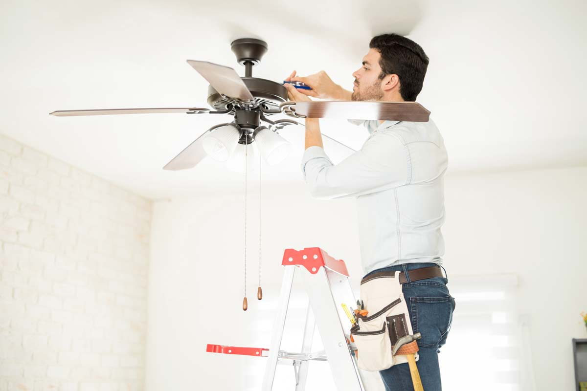Ceiling Fan Installation in Fort Lauderdale, Plantation, Weston