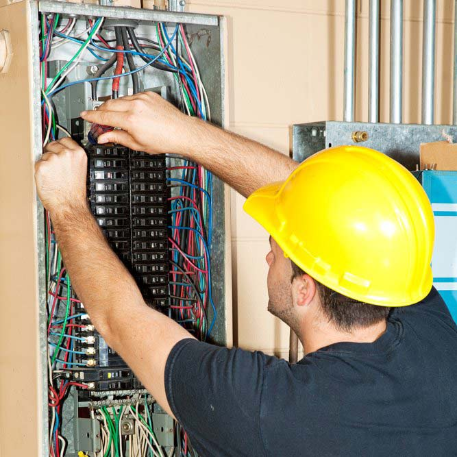electrical panel capacity upgrades Weston