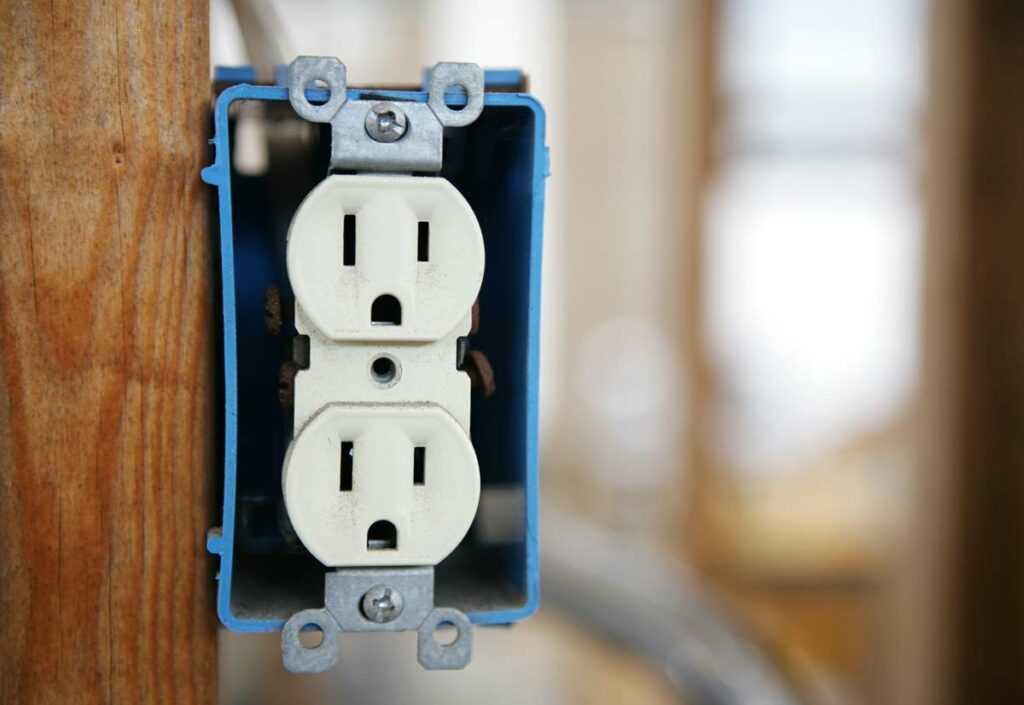 Electrical outlet relocation in Fort Lauderdale
