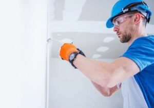 Residential Electrician in Weston, FL working on electrical repairs